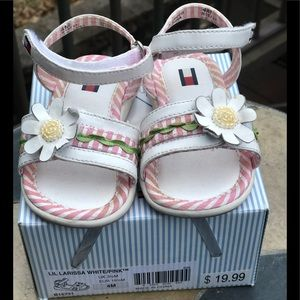 Tommy Girl Lil Larissa Sandals -Size 4